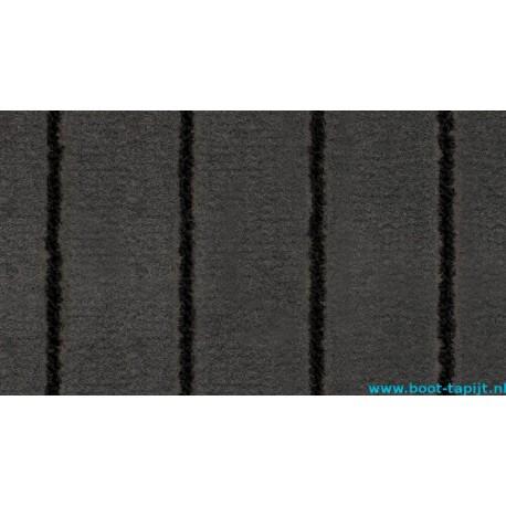 Marine Tuft Teak Charcoal Black boot tapijt